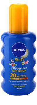 Nivea Sun Kids dětský barevný sprej na opalování SPF 20