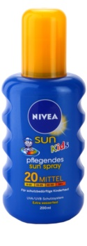 Nivea Sun Kids Kids' Colored Spray For Tanning SPF 20