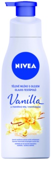 Nivea Vanilla & Almond Oil Body Lotion With Oil