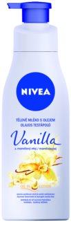 Nivea Vanilla & Almond Oil telové mlieko s olejom