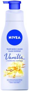 Nivea Vanilla & Almond Oil молочко для тіла з олією