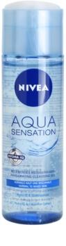 Nivea Visage Aqua Sensation gel limpiador para pieles normales y mixtas