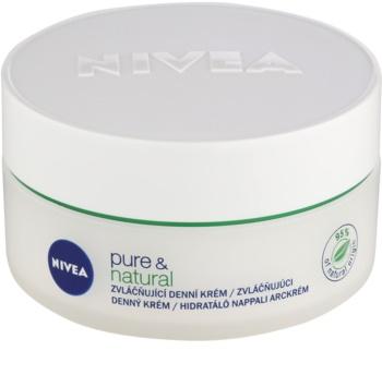 Nivea Visage Pure & Natural zvláčňující denní krém pro normální až smíšenou pleť