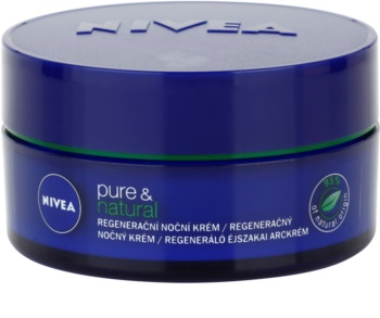 Nivea Visage Pure & Natural Regenerating Night Cream for All Skin Types