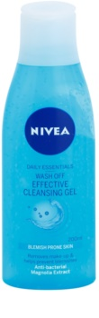 Nivea Visage Pure Effect gel de limpeza