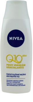 Nivea Visage Q10 Plus čistiace pleťové mlieko proti vráskam