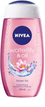 Nivea Waterlily & Oil energetizáló tusfürdő gél