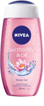 Nivea Waterlily & Oil orzeźwiający żel pod prysznic