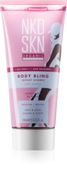 NKD SKN Body Bling gel za bronast ten za obraz in telo