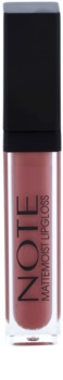 NOTE Cosmetics Mattemoist Lip Gloss mat cu vitamina E