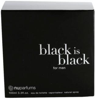 Nuparfums Black Is Black toaletná voda pre mužov 100 ml
