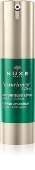 Nuxe Nuxuriance Ultra omladzujúci krém na kontúry očí a pier proti vráskam, opuchom a tmavým kruhom