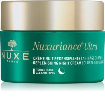 Nuxe Nuxuriance Ultra crema de noche nutritiva rejuvenecedora  para todo tipo de pieles