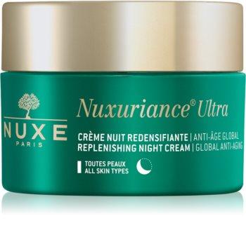 Nuxe Nuxuriance Ultra cremă hrănitoare de noapte cu efect de întinerire pentru toate tipurile de ten
