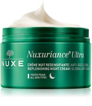 Nuxe Nuxuriance Ultra нощен подхранващ подмладяващ крем за всички типове кожа на лицето