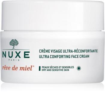 Nuxe Rêve de Miel denní vyživující a hydratační krém pro suchou pleť