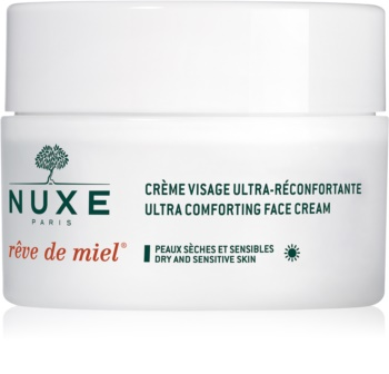 Nuxe Rêve de Miel dnevna hranilna in vlažilna krema za suho kožo