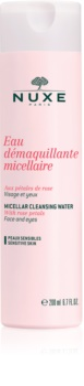 Nuxe Cleansers and Make-up Removers agua micelar limpiadora para ojos y pieles sensibles