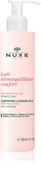 Nuxe Cleansers and Make-up Removers tisztító tej normál és száraz bőrre