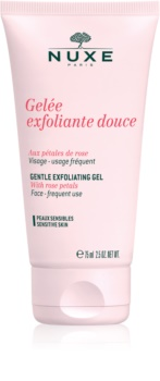 Nuxe Cleansers and Make-up Removers exfoliante limpiador para pieles sensibles