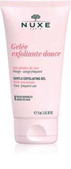 Nuxe Cleansers and Make-up Removers peeling oczyszczający  dla cery wrażliwej