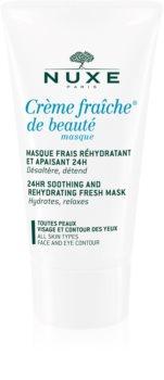 Nuxe Crème Fraîche de Beauté mascarilla hidratante y calmante para todo tipo de pieles