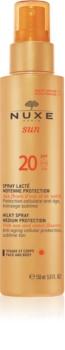 Nuxe Sun spray abbronzante SPF 20