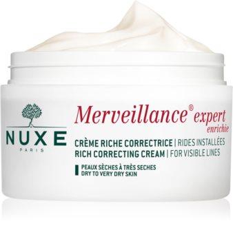 Nuxe Merveillance Expert Crème tegen Rimpels  voor Droge tot Zeer Droge Huid