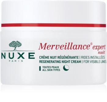 Nuxe Merveillance nočna regeneracijska krema za vse tipe kože