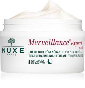 Nuxe Merveillance Expert crema regeneradora de noche para todo tipo de pieles