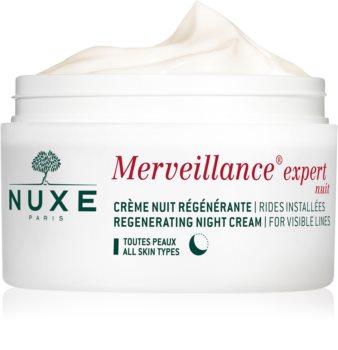 Nuxe Merveillance regenerační noční krém pro všechny typy pleti