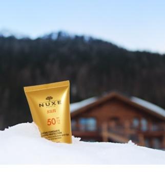 Nuxe Sun крем для обличчя для засмаги SPF 50
