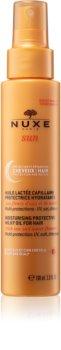 Nuxe Sun olio al latte protettivo per capelli effetto idratante