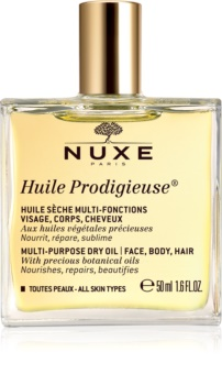 Nuxe Huile Prodigieuse aceite seco multiactivo para cara, cuerpo y cabello