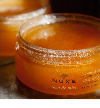 Nuxe Rêve de Miel odżywczy peeling do ciała