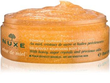 Nuxe Rêve de Miel vyživujúci telový peeling