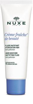 Nuxe Crème Fraîche de Beauté matirajuća hidratantna njega za mješovitu kožu lica
