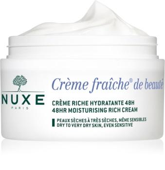 Nuxe Crème Fraîche de Beauté hydratační a vyživující krém pro suchou až velmi suchou pleť
