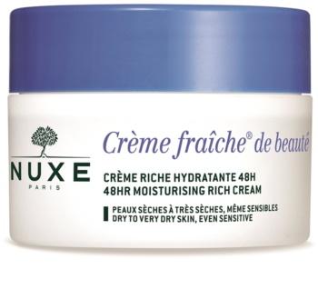 Nuxe Crème Fraîche de Beauté Hydraterende en Voedende Crème  voor Droge tot Zeer Droge Huid