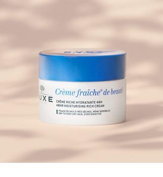 Nuxe Crème Fraîche de Beauté crema hidratante y nutritiva para pieles secas y muy secas