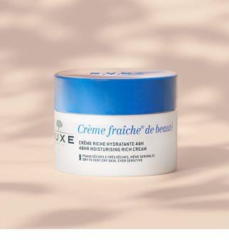 Nuxe Crème Fraîche de Beauté odżywczy krem nawilżający do skóry suchej i bardzo suchej