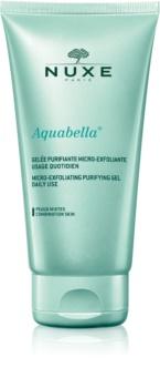 Nuxe Aquabella gel de limpeza micro-esfoliante para uso diário