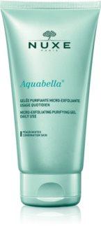 Nuxe Aquabella gel limpiador micro-exfoliante para uso diario
