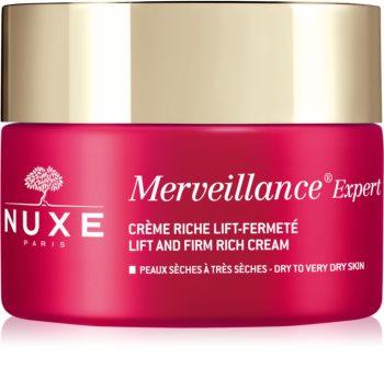 Nuxe Merveillance Expert liftingujący i ujędrniający krem na dzień do skóry suchej i bardzo suchej