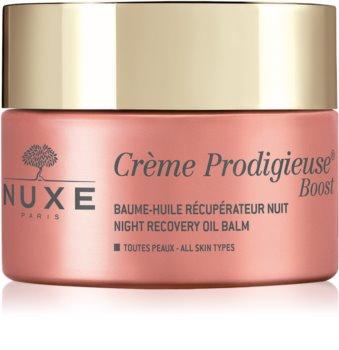 Nuxe Crème Prodigieuse Boost éjszakai megújító krém regeneráló hatással