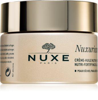 Nuxe Nuxuriance Gold crema in olio nutriente con effetto rinforzante per pelli secche