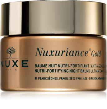 Nuxe Nuxuriance Gold balsamo notte nutriente per rinforzare la pelle
