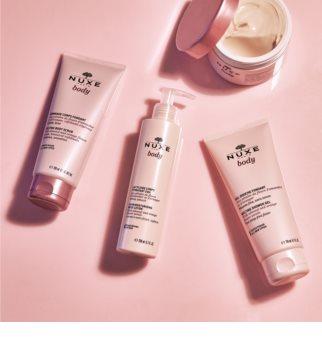 Nuxe Body gel de dus exfoliant pentru toate tipurile de piele