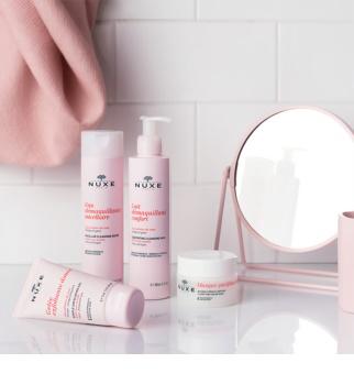 Nuxe Cleansers and Make-up Removers oczyszczający płyn micelarny do skóry wrażliwej i do okolic oczu