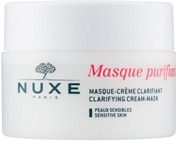 Nuxe Cleansers and Make-up Removers čistiaca maska pre citlivú pleť
